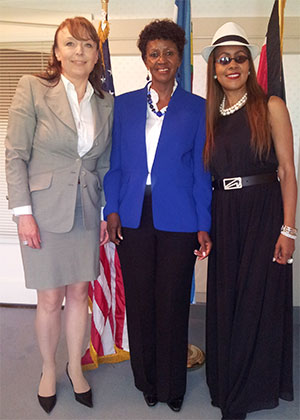 Aid for Orphans Relief Foundation meets with Ambassador Wenwa, Consul General of the Kenya, Greater Los Angeles area.