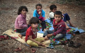 Syrian children in need